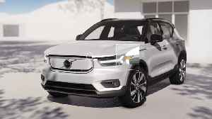 Volvo XC40 Recharge Frunk Animation [Video]