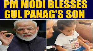 PM Modi responds to Gul Panag's son's video, video goes viral | OneIndia News [Video]
