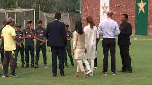 Duke and Duchess of Cambridge show off their cricket skills [Video]