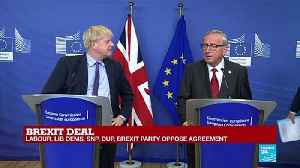 Brexit Deal: Boris Johnson, Jean-Claude Juncker hold press conference [Video]
