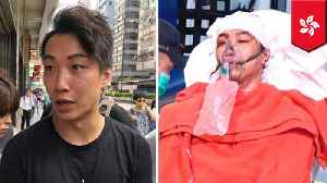 HK protest leader Jimmy Sham attacked by men with hammers [Video]