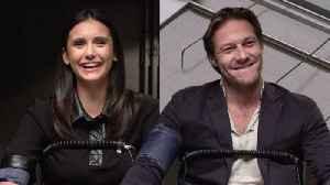 Nina Dobrev and Luke Bracey Take a Lie Detector Test [Video]