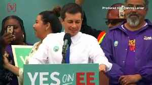 Mayor Pete Buttigieg Emerges as New Threat to former VP Joe Biden [Video]