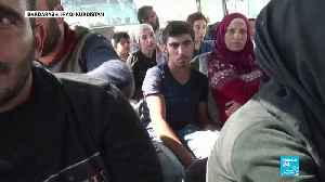 Turkish offensive in Syria: Humanitarian groups struggle to provide aid to hundreds of thousands of civilians [Video]