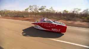 Belgian car wins Darwin-to-Adelaide solar race