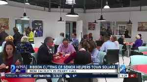 Ribbon cutting of Senior Helpers Town Square [Video]