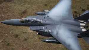 U.S. Airstrikes Destroy Weapons Storage Site In Syria [Video]