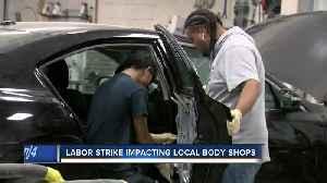 GM labor strike impacting local body shops [Video]