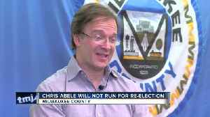 Milwaukee Co. Executive Abele announces he is not seeking re-election [Video]