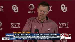 Austin Kendall returns to Norman, but as West Virginia's QB [Video]