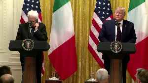 News video: Trump says Barr's meeting with Italian PM 'appropriate'