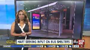 HART wants your input on bus shelter enhancements [Video]