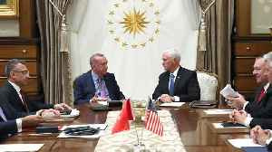 Pence Says Turkey Has Agreed To 120-Hour Cease-Fire In Syria [Video]