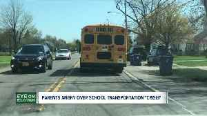 Buffalo parents and school administrators demand changes to school bus transportation [Video]