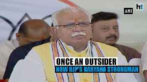 Manohar Lal Khattar: Once an outsider, now BJP'S Haryana strongman [Video]