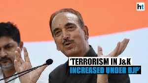 Ghulam Nabi Azad blames Modi government for rise of terrorism in J&K [Video]