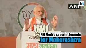 'Narendra in Delhi & Devendra in Maharashtra a superhit formula': PM Modi [Video]