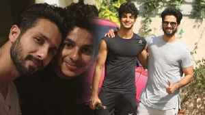 Shahid Kapoors Advice To His Brother Ishaan Khatter [Video]