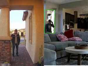 Bizarre 4-hour burglary caught on camera in northwest Las Vegas [Video]