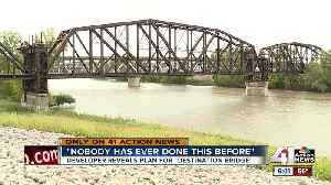 'Destination bridge' over Kansas River waiting on final approval [Video]