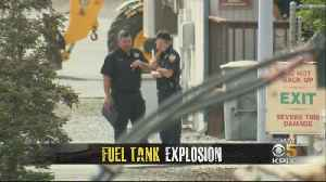 Several Agencies Team To Investigate Cause Of NuStar Fuel Tank Explosion And Fire [Video]