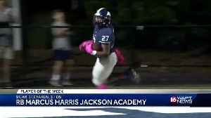 Marcus Harris is the Bank Plus Blitz 16 Player of the Week [Video]