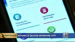 New App Gives Advanced Earthquake Warnings To Bay Area Users [Video]