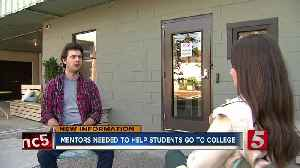 Mentors needed across Tennessee to help students reach college [Video]