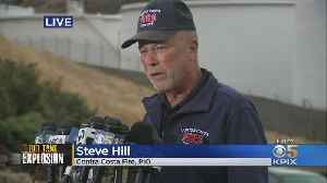 Contra Costa Fire's Steve HIll Provides Update On NuStar Fire Investigation [Video]