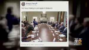 Heated Exchange Between President Trump, Democrats [Video]