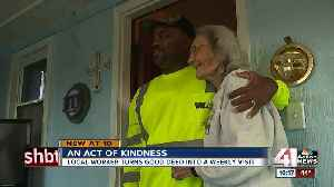 News video: Waste Management worker's act of kindness caught on camera