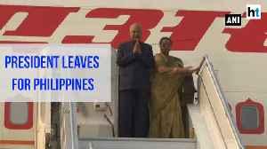 President Kovind leaves for 7-day visit of Philippines & Japan [Video]