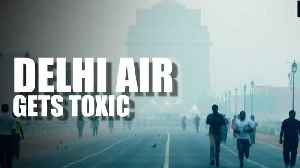 News video: Delhi's air quality deteriorates; govt shares NASA's crop burning images