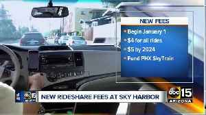 Phoenix City Council OKs new fees for airport rideshares [Video]