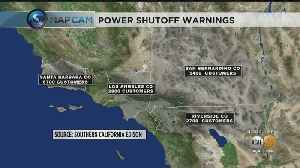 SoCal Edison Warns Of Potential Power Shutoffs As Santa Ana Winds Expected To Return [Video]