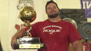 'It's Surreal': Martins Licis Talks About Winning World's Strongest Man Competition [Video]