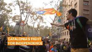 Here's why Catalans separatists are protesting in Spain [Video]