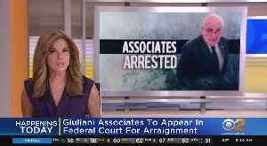 Giuliani Associates Face Arraignment [Video]