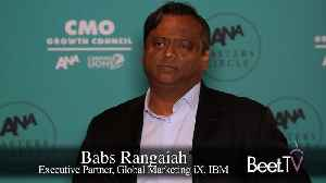 IBM's Rangaiah on Moving Beyond Advertising to Customer Experiences [Video]