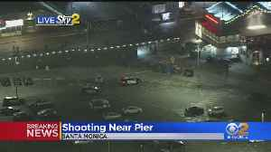 Man Wounded In Shooting At Santa Monica Pier [Video]