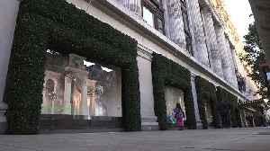 Selfridges unveils its Christmas window display