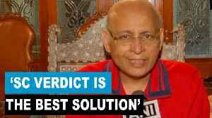 'Supreme Court verdict best solution for Ayodhya dispute': Abhishek Singhvi [Video]