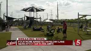 Four more arrested in 'Felony Lane Gang' Hendersonville burglaries [Video]