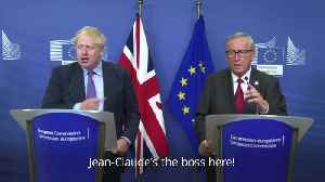 'Have a good time' - Jean-Claude Juncker signs off press conference in dismissive fashion [Video]