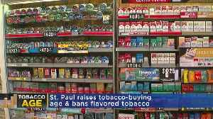 St. Paul Votes To Raise Tobacco Buying Age To 21 [Video]