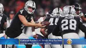 Raiders-Packers Preview: Josh Jacobs, Derek Carr Lead A Revived Oakland Team Into Green Bay [Video]