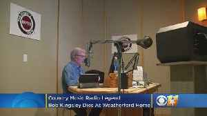 Country Music Radio Legend Bob Kingsley Dies At 80 [Video]