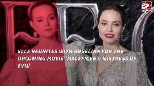 Elle Fanning finds Angelina Jolie 'inspiring' [Video]