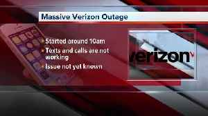 Verizon Wireless experiencing intermittent outages in Detroit area [Video]