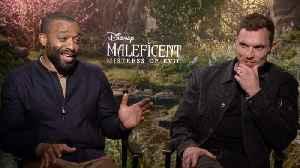 Chiwetel Ejiofor, Ed Skrein Talk 'Maleficent: Mistress Of Evil' [Video]